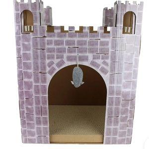 Cat Castle Catnip Scratcher Pad Disney Kitten NEW